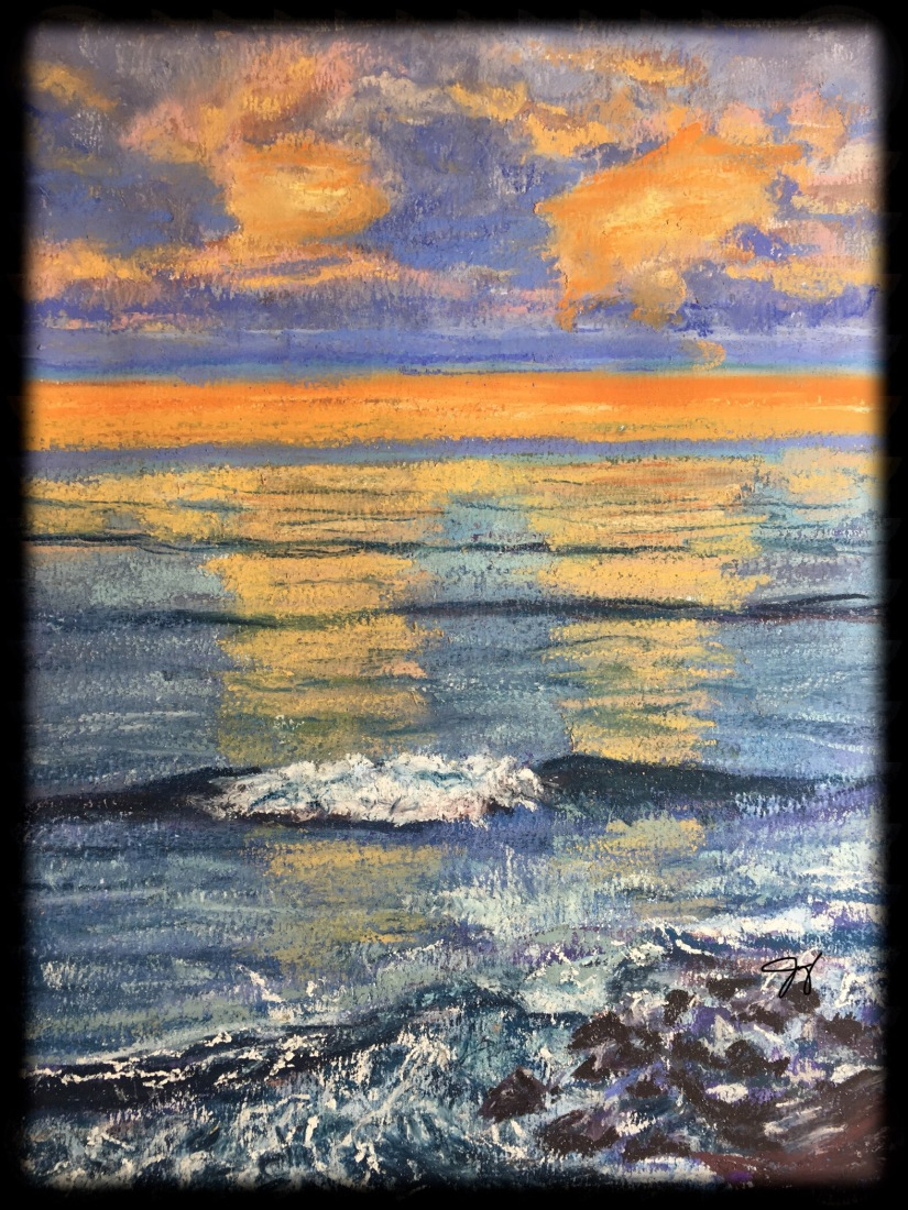 Sunset Shoreline (Photo Courtesy of Joann Silva)